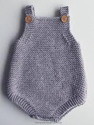 Baby Romper Pattern Free Enchanting Baby Knitting Patterns Free Knitting Pattern For Easy Baby Romper