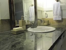 Amazing Ideas And Pictures Of Bathroom Tile And Granite - Granite countertops for bathroom
