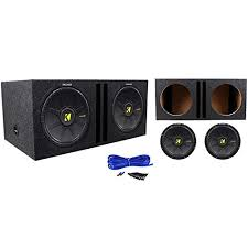 package 2 kicker 40cws122 comps 12 2 ohm svc car subwoofers package 2 kicker 40cws122 comps 12 2 ohm svc