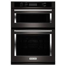 built in oven microwave combo. Simple Microwave KitchenAid Selfcleaning Convection Microwave Wall Oven Combo Black  Stainless Steel Common And Built In C