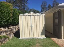 custom garden shed installed