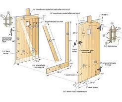 Small Picture Perfect Wooden Gate Plans Free For Fence Gate