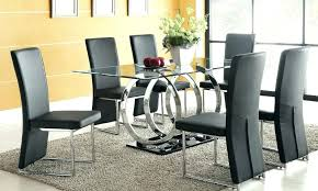 dining glass table set glass round glass dining table set