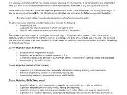 Job Objective On Resume Resume Objective For Career Change Templates Template Striking Job 76