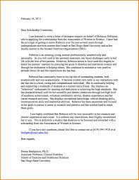 Scholarship Recommendation Letter 24 Recommendation Letter For Scholarship Expense Report 4