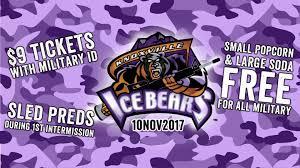 Knoxville Ice Bears Vs Peoria Rivermen
