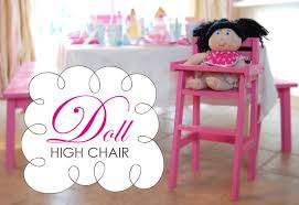 doll high chair plans i really need to learn how to build things