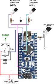 solar water heating pump controller reuk co uk arduino solar water heating pump controller code and plans