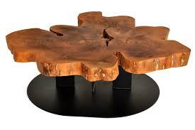 rotsen furniture  live edge free form coffee table