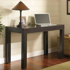 home office decor brown simple. Small Writing Desk For Bedroom Pictures Home Office Simple Furniture Of Rectangular Black Designed With Square Legs Plus Rustic Table Lamp Brown Cone Also Decor G