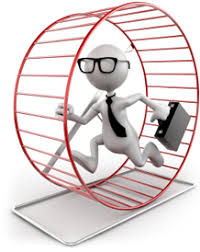 Getting off the hamster wheel - Strategies