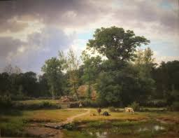 file landscape in westphalia oil on canvas painting by thomas worthington whittredge
