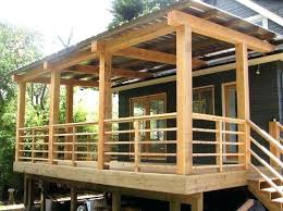 deck railing ideas be equipped porch outdoor stair rustic b