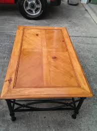 here s one side of the coffee table