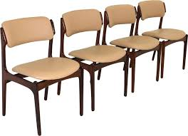 set of 4 vine dining chairs in rosewood by erik buch for oddense maskinsnedkeri previous next