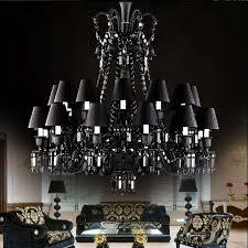 large black chandelier