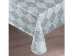 marko vinyl classic series damask lace pattern second tablecloth round overlay 66 inch