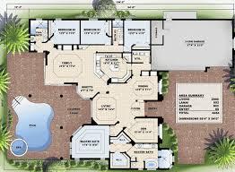 Beautiful Mediterranean Dream Home   GW   st Floor Master    Floor Plan