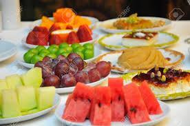Presentation Foods Restaurant Food Fruit Plate Restaurant Table Fruit Plate