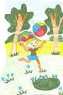 Как рисовать лето на конкурс
