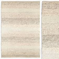 flat weave wool rug texture light gray