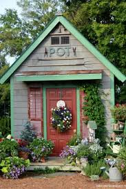 Small Picture 14 Whimsical Garden Shed Designs Storage Shed Plans Pictures