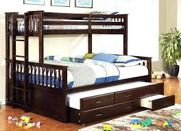 Queen Bed With Twin Trundle Queen Trundle Beds Queen Trundle Bed ...