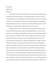 The Great Gatsby Corruption Of The American Dream Best of Gatsby Essay Motif Essay For Great Gatsby Good Introduction For The