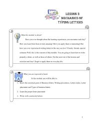 Mechanics In Typing Business Letters Envelope Written