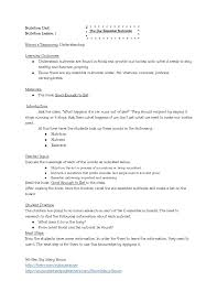 The Six Essential Nutrients: Lesson Plan And Worksheet by ...