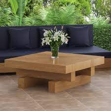 Shop furniture, lighting, storage & more! Onslow Teak Wood Outdoor Square Coffee Table