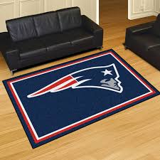 timely patriots area rug new england 5 x 8
