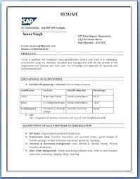Sap Functional Consultant Cover Letter Noithat190 Co