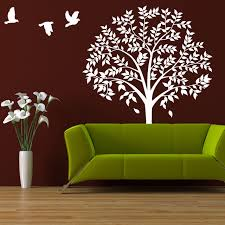 wall tree decal large tree forest