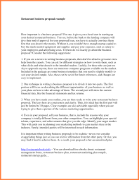 proposal letter example writing a business proposal letter sample choice image letter