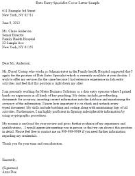How To Write A Cover Letter For Downloads Sample Cover Letter For