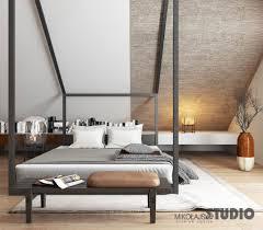 Modernes Schlafzimmer Mit Dachschräge Schlafzimmer Von
