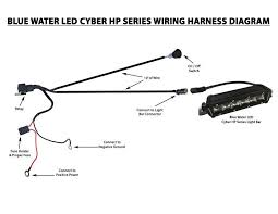 parallel wiring harness wiring diagram parallel wiring harness wiring diagram librarybluewaterled cyber systems led wiring harness switch t h marine radio wiring