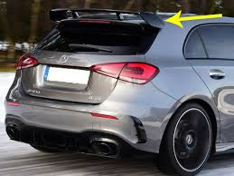 That was until the introduction of the a35 amg. Mercedes W177 A Class Amg A35 Rear Wing Roof Spoiler Unpainted Genuine Oem Amg For Sale Online