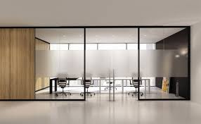 aluminum office partitions. Removable Partition / Aluminum Glass Acoustic - ARIA BABINI OFFICE Office Partitions
