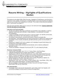 template template template resume examples for skills section easy on the eye qualification highlights on resume resume examples for skills