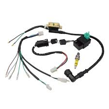 wire harness motorcycle, go kart, atv, scooter, dirt bike goofit Custom Motorcycle Wiring at Rebuild Motorcycle Wiring Harness
