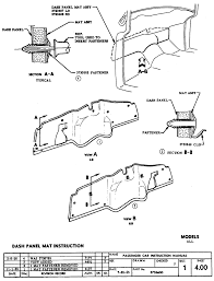 Dash panel mat sheet 4 00