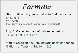 volume of water equation. volume of water equation i