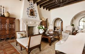 spanish living room design