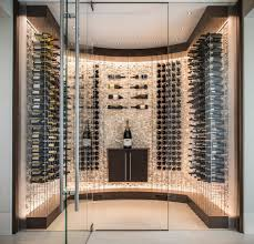 Glass Wine Room Design San Francisco Recessed Lighting Ideas Wine Cellar
