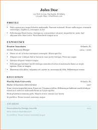 Resume Doc Latest Resume Format Doc Sop Proposal 37
