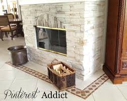 painting ceramic tile floor fireplace before painting floor tile fireplace tile before