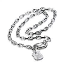 simmons jewelry. russell simmons stainless steel mini razor chain with lobster clasp jewelry n