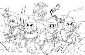 Free Printable Ninjago Coloring Pages For Kids Lego Coloring Pages